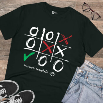 Zero Cross game mission Complete Printed tshirt