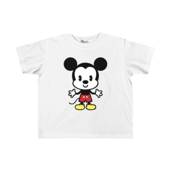 baby mickey mouse printed t-shirt